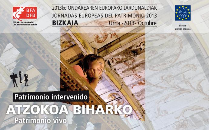 Programa Bizkaia Jornadas europeas de patrimonio 2013