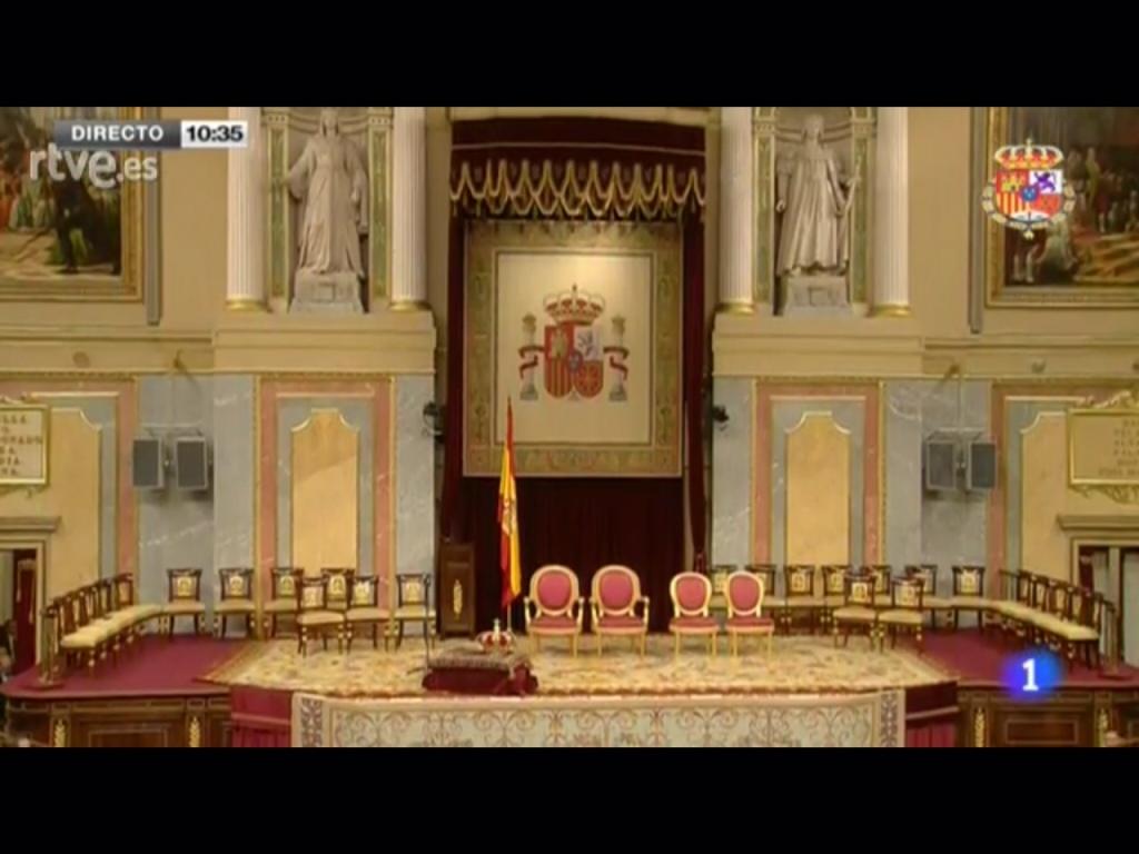 Acto de proclamación de Felipe VI