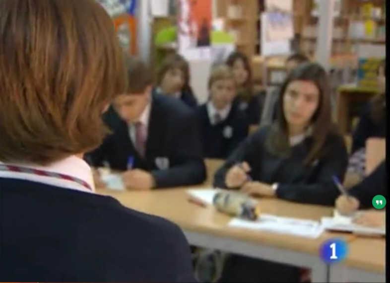 Pincha sobre la imagen para acceder a la noticia de TVE sobre las dificultades de hablar en público