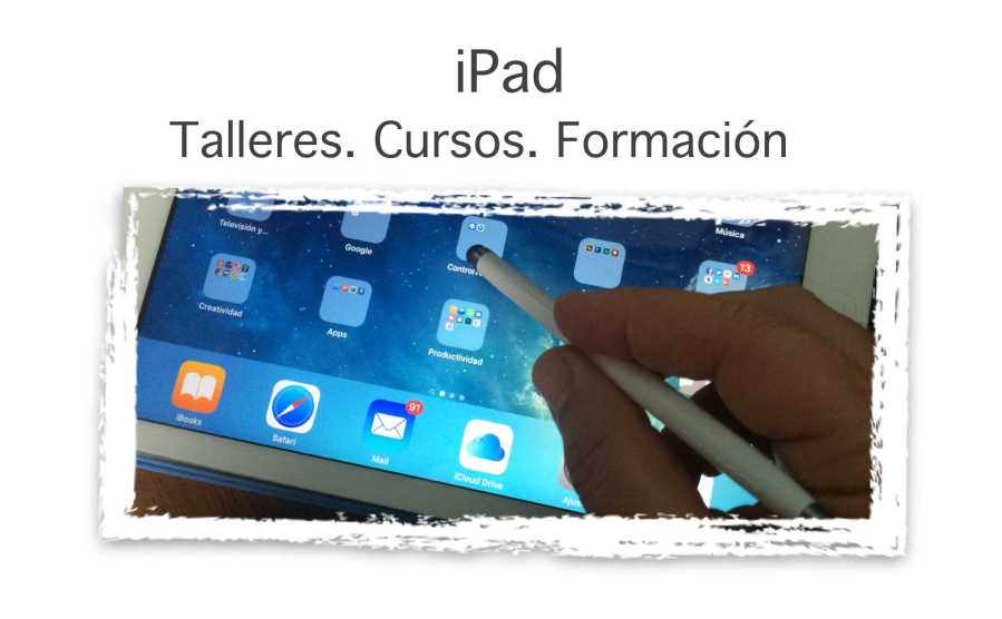 Pulsa sobre la imagen para acceder a la páginade Formación iPad